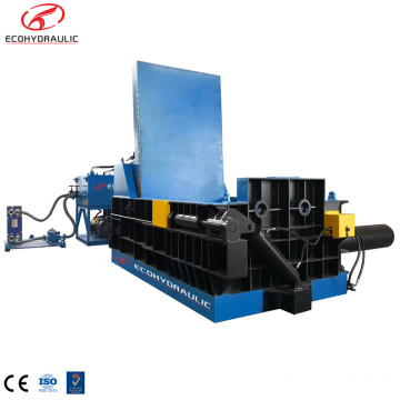 Hydraulic Steel Aluminum Scrap Recycling Square Baler