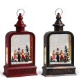 Battery Operated Christmas Water Snow Globe Lantern