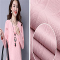 Breathable Air Layer Knitted Jacquard Women Fabrics