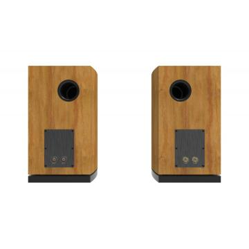 Hifi wooden passive Home theater Bookshelf Speaker
