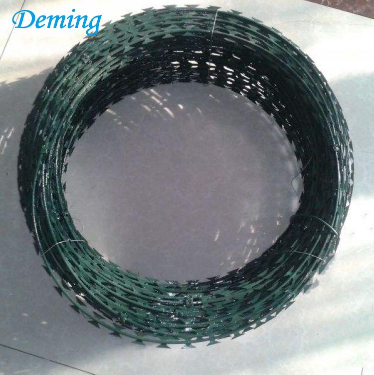 Security Fencing Razor Barbed Wire/Razor Combat wire