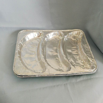 Aluminum Foil Food Croissant Bread Packaging Containers