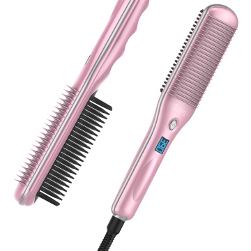 best hair straightening brush 2019