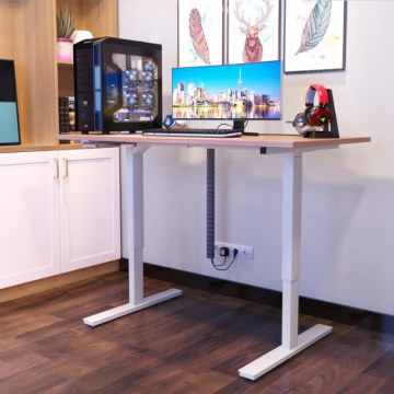 Ergonomic Height Adjustable Modern Steel Legs Desk
