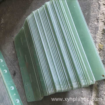 CNC machining cutting and drilling FR4 fiberglass panels
