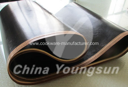 High glossy PTFE coated fabric for industry