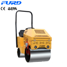 800kg Self-propelled Double Drum Steered Vibratory Roller 800kg Self-propelled Double Drum Steered Vibratory Roller FYL-860