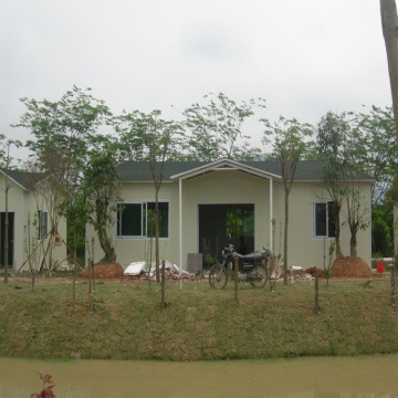 Light Steel Luxury Villa One Storey Prefab House