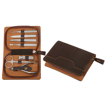 Pattern 7 pcs Manicure Set Stainless Steel Beauty Tool