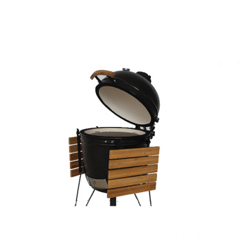 glazed finishing Charcoal BBQ Grill Ceramic kamado