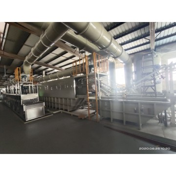 High-quality aluminium anodizing production line