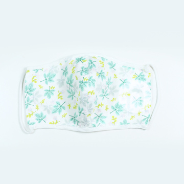 VACATION FLORAL TEXTILE MASK