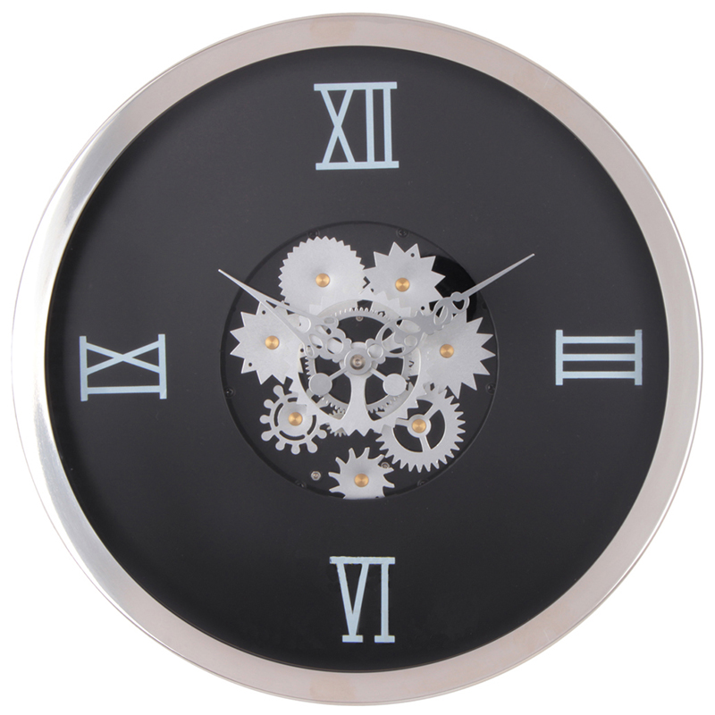 Moving Gears Wall Clock