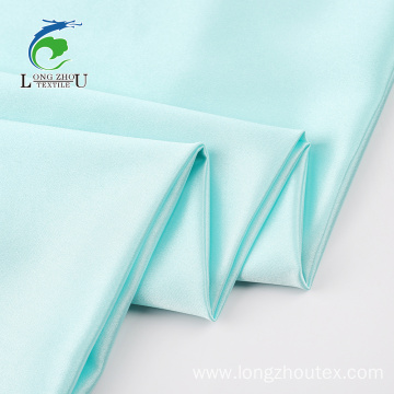 Soft Crepe Spandex Satin Fabric