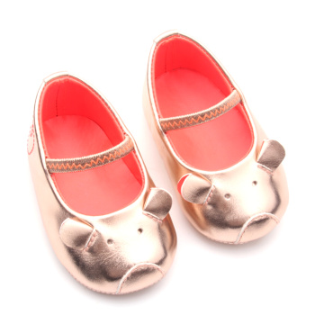 Lovely Cute Mole Leather Baby Dress Shoes