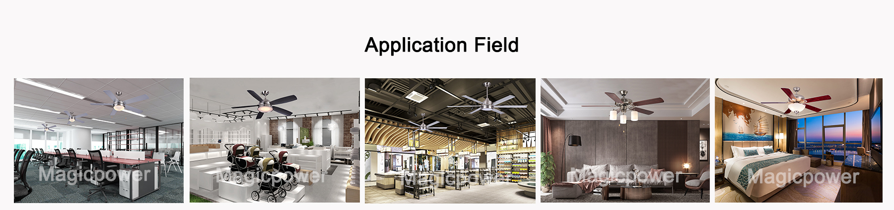 ceiling fan application