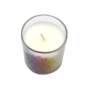 Scented Candle glass jar colorful box