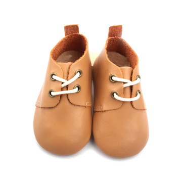 Soft Leather Baby Girl Oxford casual shoes