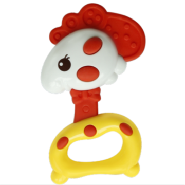 A0607 Chick Shape Baby Safety Music Toy