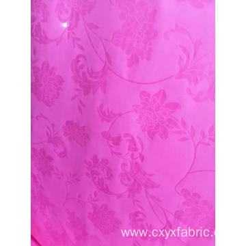 polyester pink purple emboss fabric