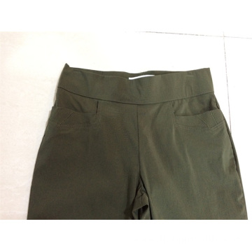 lady's pant with elastic