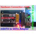 JMF670H SSD PCBA , JMF670H SSD Controller, BGA152 / BGA132 PACKAGE, SSD DIY KITS, MSATA6Gbps, 256MB DRAM 4channels,8CE/CH, 4PADS