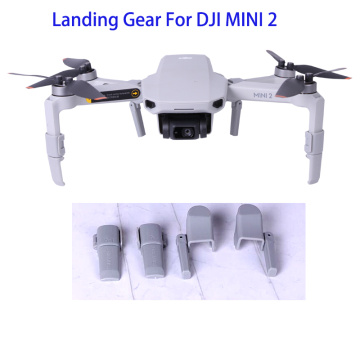 DJI Mini 2 Foldable Heightening Landing Gears Feet Bracket Protector Heightening Stand For DJI Mavic Mini 2 Drone Accessories