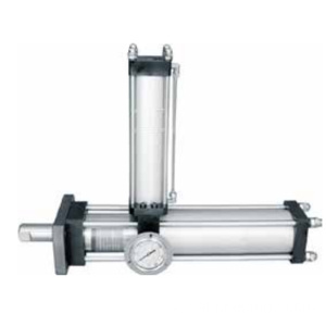 HTAA series standard horizontal mounting boosting  cylinder
