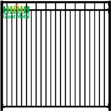 prefab iron fence panels