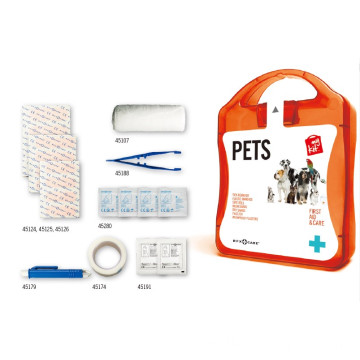 Portable first aid MYkit for pets