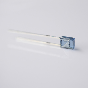 2×3×4mm Rectangle Square 940nm LED Blue Lens