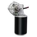 120W 12V DC 50rpm 8Nm Worm Gear Motor