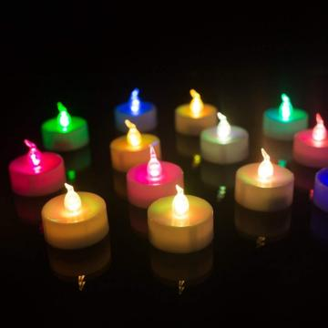 Batter flameless tealight decorative led candles