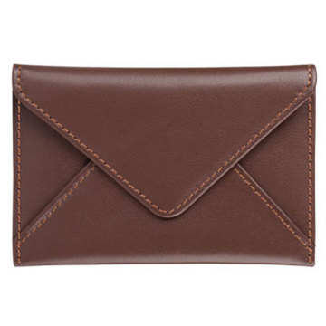 Small Leather Business Name Card Holder Case