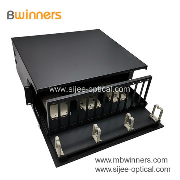 144 Fibers 4RU Rack Mounted Optical Distribution Frame