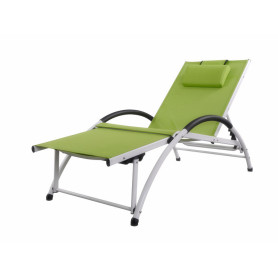Aluminum multifunction lounge chair