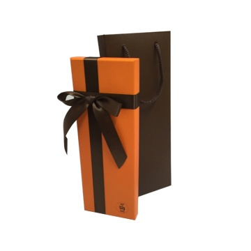 Custom Logo Printed Jewelry Gift Boxes with Ribbon