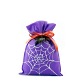 Pureple Gift Bag Packing Halloween Candies