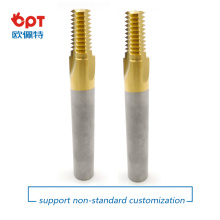 Solid  Carbide Thread Mill NPT