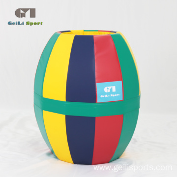 High Quality Kids Soft Rainbow Barrel