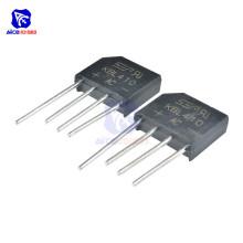 10PCS/Lot Bridge Rectifier Diode KBL410 SIP-4 4A 1000V Single Phase Bridge Rectifier Original Integrated Circuit