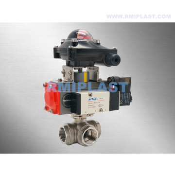 Ball Valve Pneumatic Double Acting Single Acting