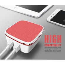 Dual USB Port home charger With US PLUG