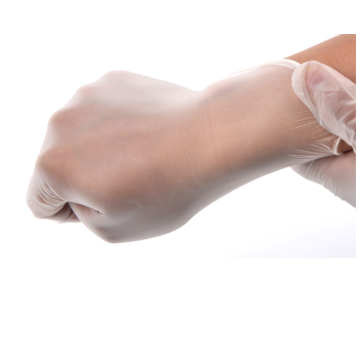 Powdered and Powder Free Disposable Vinyl Gloves