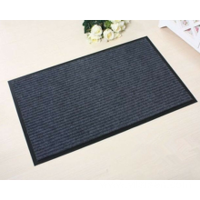 Single color polyester ribbed wedding carpet