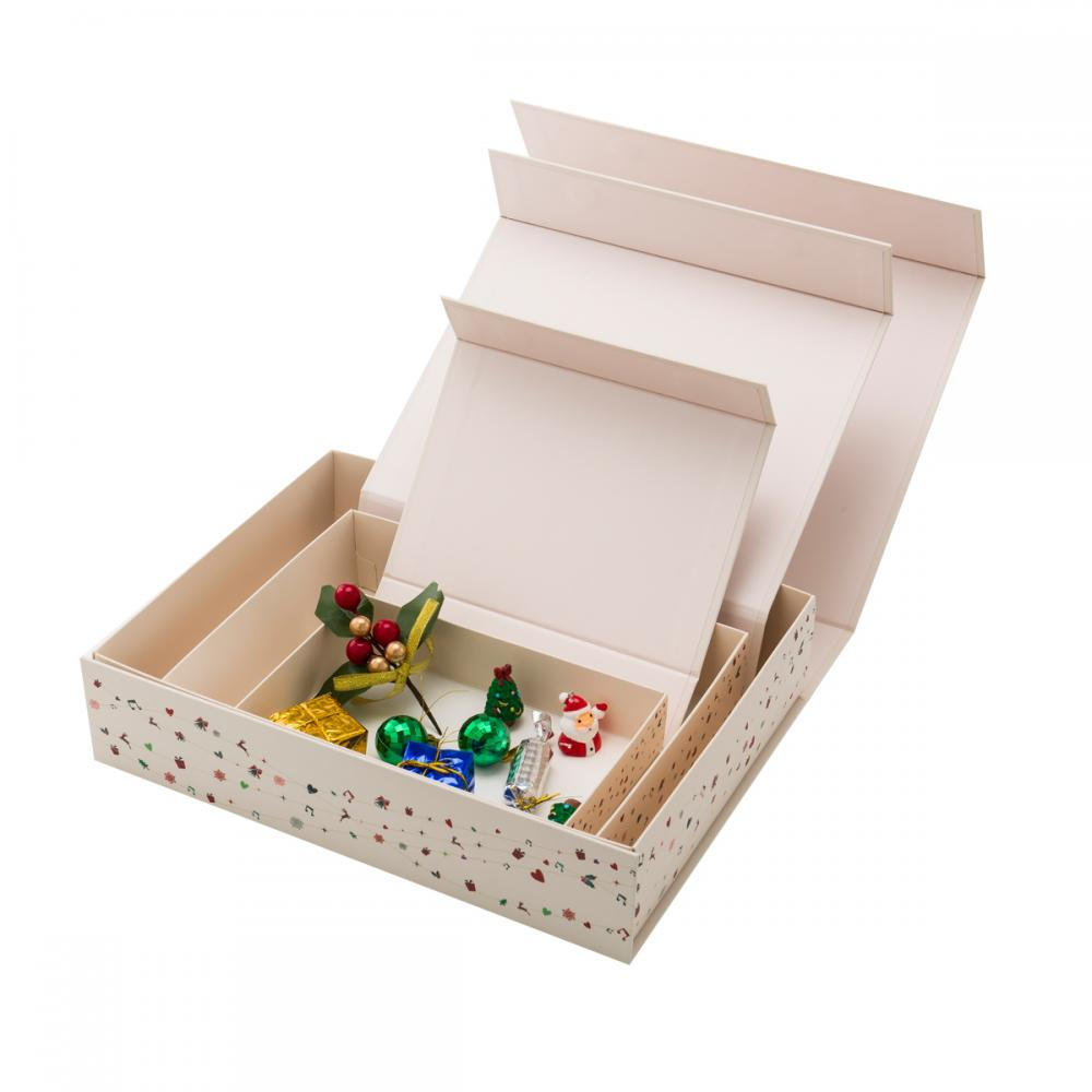 Bespoken Hinged Lid Necklace Jewelry Packaging Box