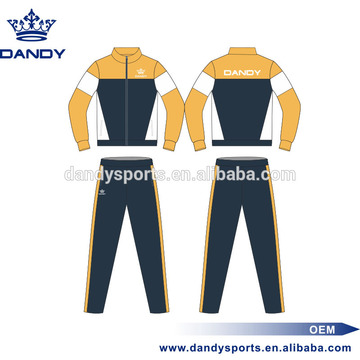 Custom mens training tracksuits