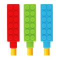 BPA Free Chewable Pencil Toppers Teething Toys