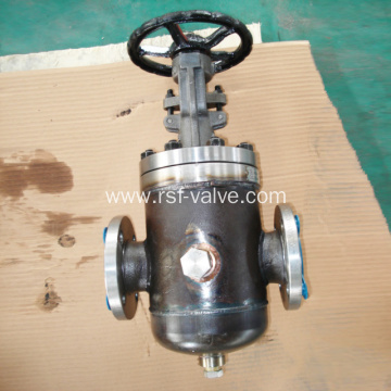 API600 Steam Jacket Gate Valve