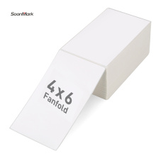 100x150MM direct thermal fanfold shipping label amazon